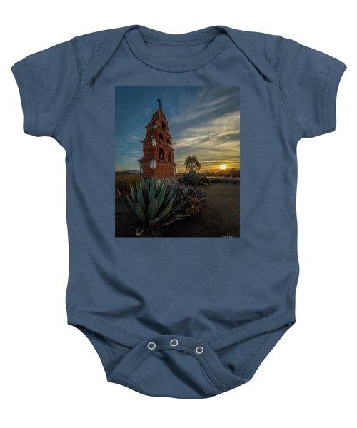 Sunrise At San Miguel Baby Onesie
