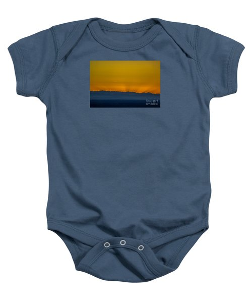Sunset 3 Baby Onesie