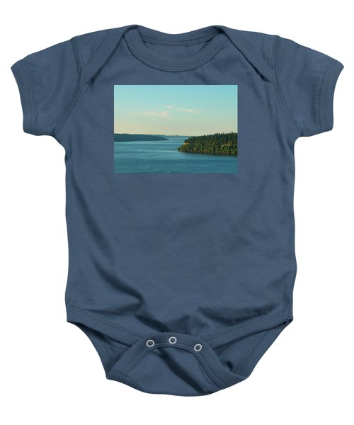 Tacoma Narrows And Commencement Bay II Baby Onesie