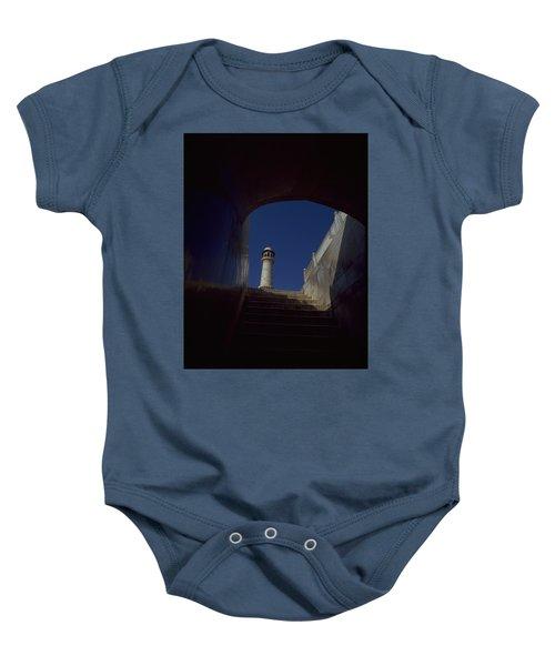 Taj Mahal Detail Baby Onesie