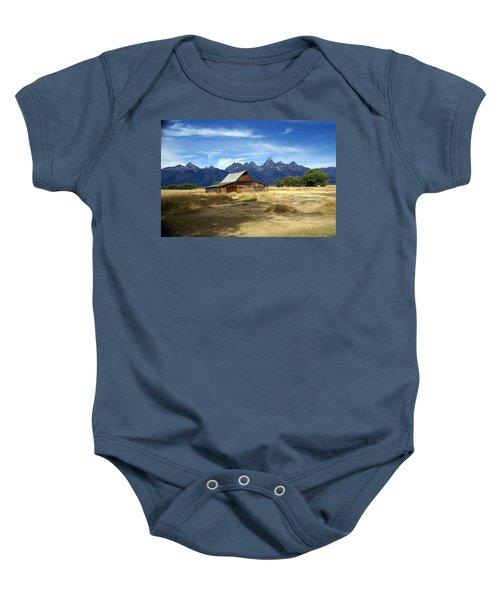 Teton Barn 3 Baby Onesie