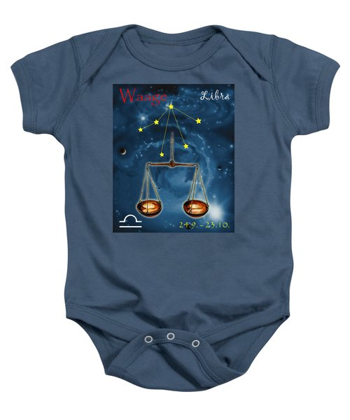 The Balance Of The Universe Baby Onesie