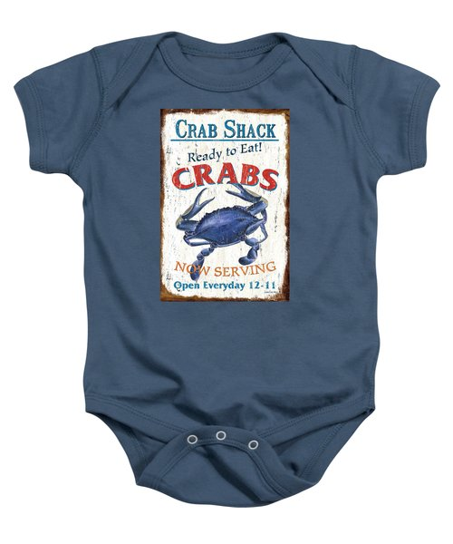 The Crab Shack Baby Onesie
