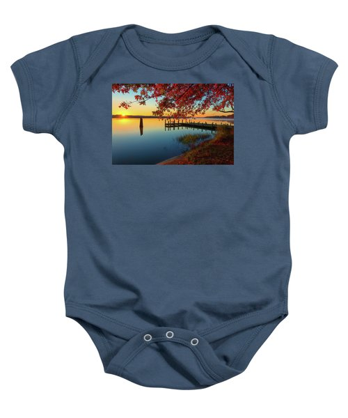 The Glassy Patuxent Baby Onesie