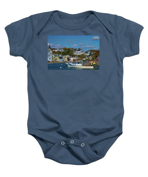 The Lobsterman's Shop Baby Onesie