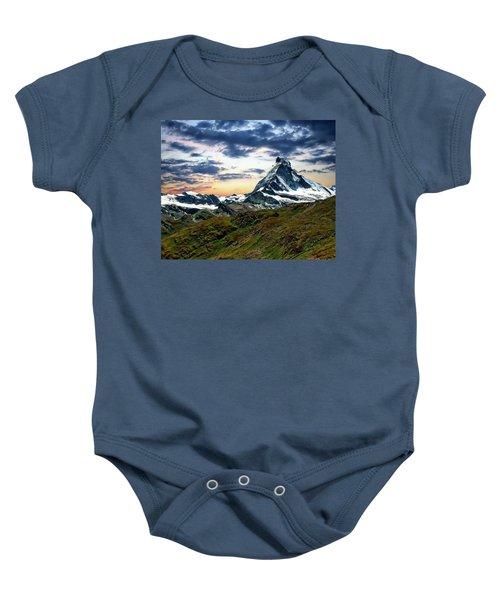 The Matterhorn Baby Onesie