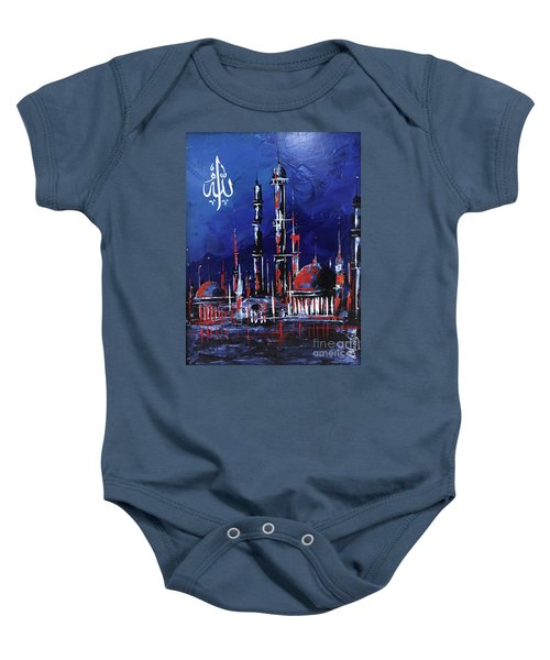 The Mosque-4 Baby Onesie