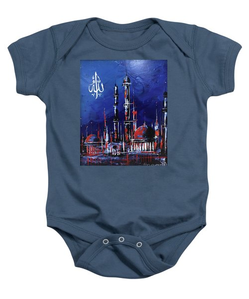 The Mosque-4 Baby Onesie