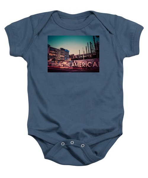 The Old And The New Baby Onesie