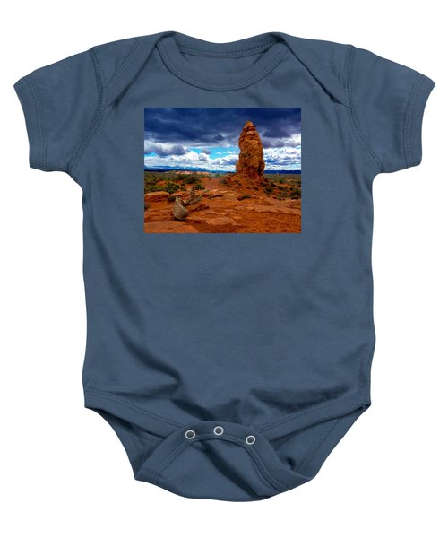 The Rock Baby Onesie