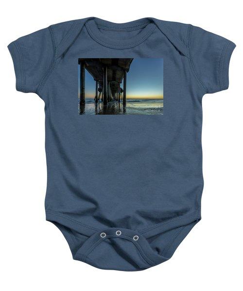 Under The Pier Baby Onesie