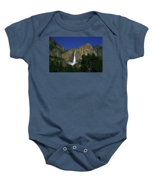 Upper Yosemite Falls Under The Stairs Baby Onesie
