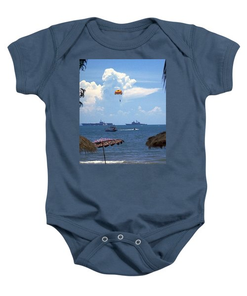 Us Navy Off Pattaya Baby Onesie