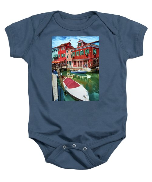 Where Did You Park The Boat? Baby Onesie