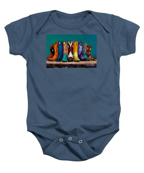Why Real Men Want To Be Cowboys 2 Baby Onesie