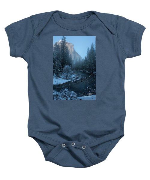 Winter El Cap  Baby Onesie