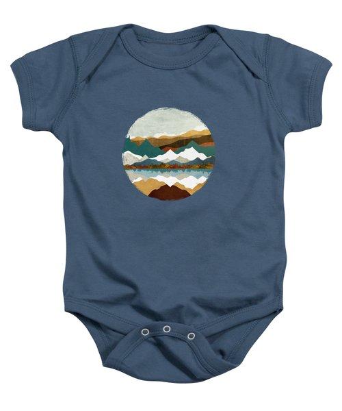 Winter Lake Baby Onesie
