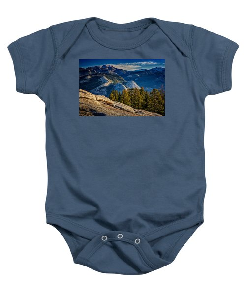 Yosemite Morning Baby Onesie by Rick Berk