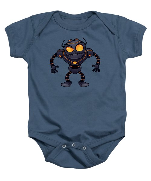 Angry Robot Baby Onesie