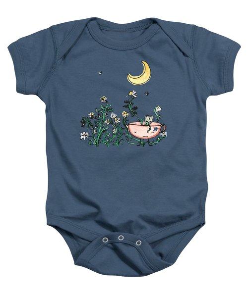 Chamomile Night Baby Onesie