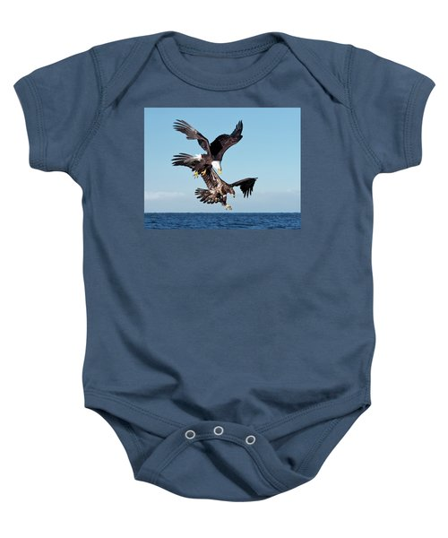 Diving Duo Baby Onesie