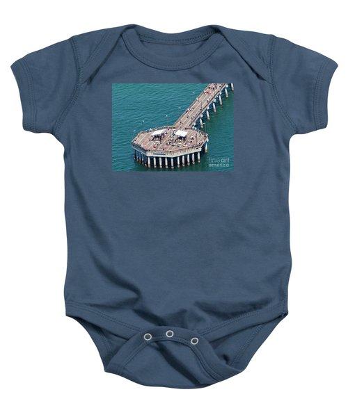 Gulf State Park Pier 7467 Baby Onesie