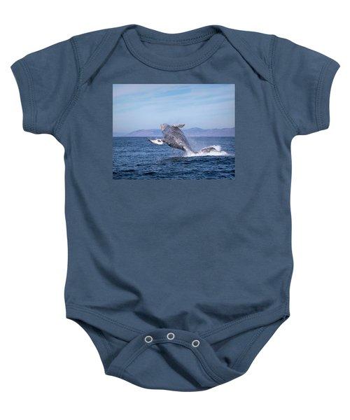 Humpback Breaching - 03 Baby Onesie