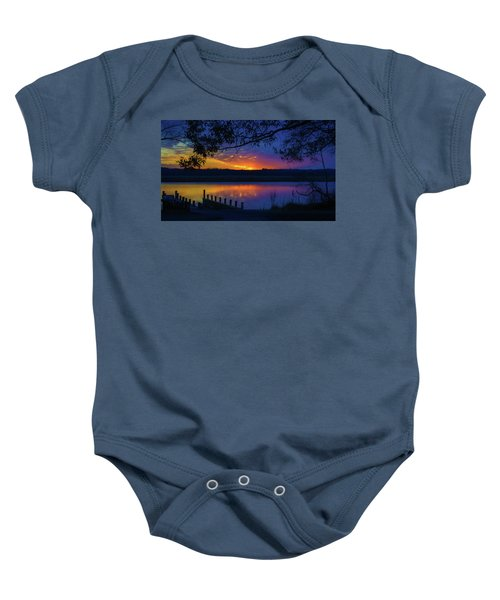 In The Blink Of An Eye Baby Onesie