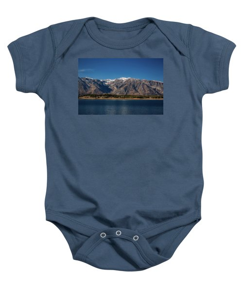 Jackson Lake Wyoming Baby Onesie
