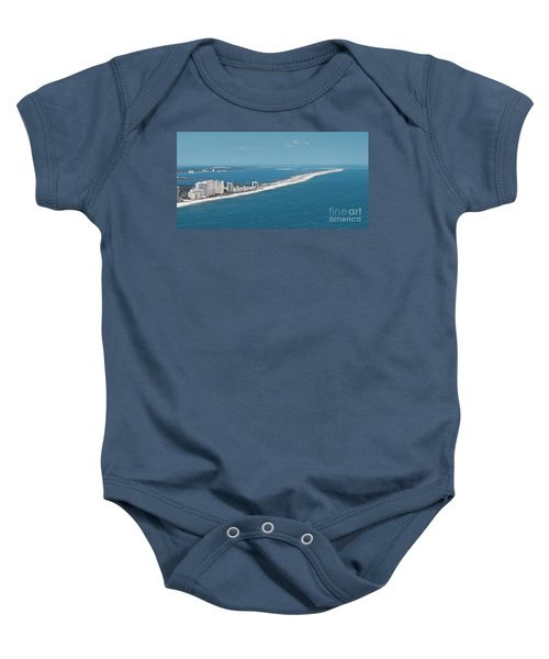 Johnson Beach Baby Onesie