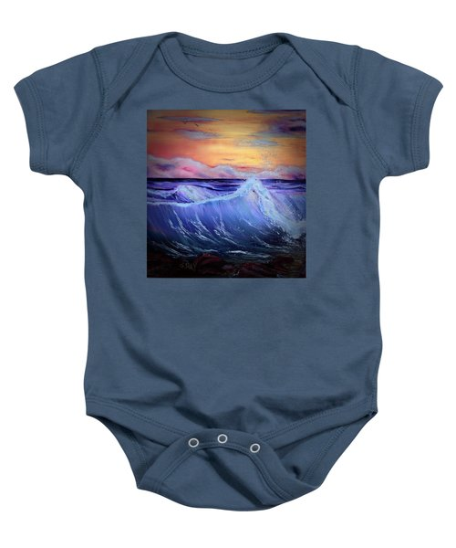Rollin On The Rocks Baby Onesie