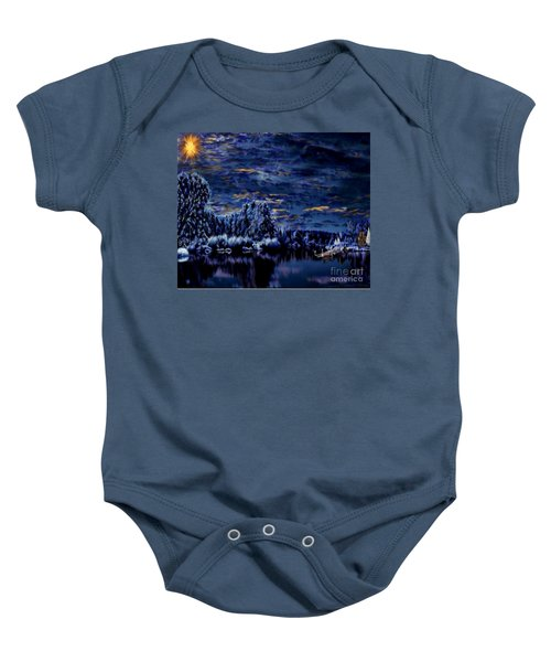 Silent Moments Baby Onesie