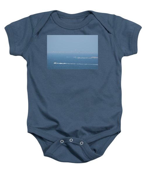 The Coast Guard's Rib Baby Onesie