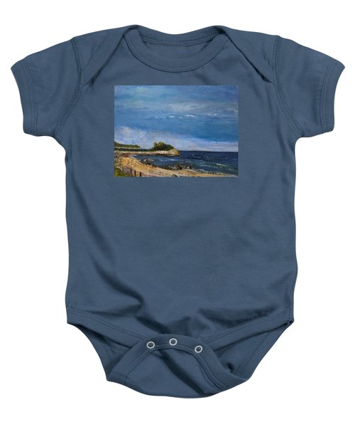 The Knob, Falmouth Baby Onesie