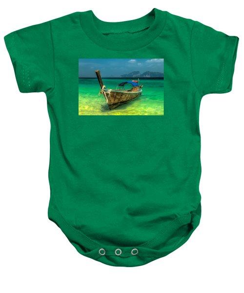 Thai Longboat Baby Onesie