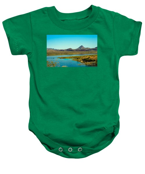Alamo Lake Baby Onesie by Robert Bales