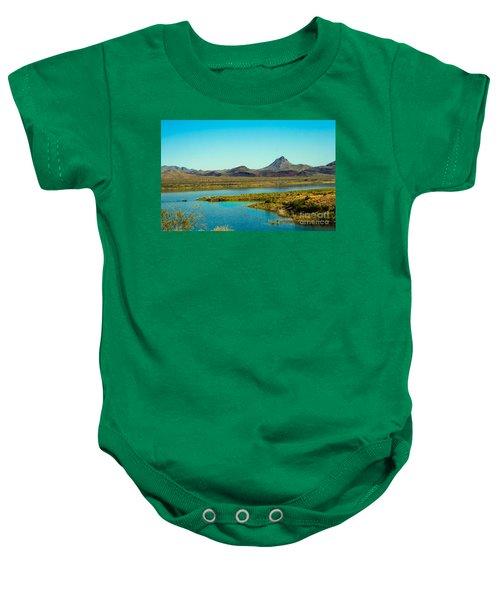 Alamo Lake Baby Onesie