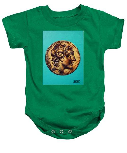 Alexander The Great Baby Onesie