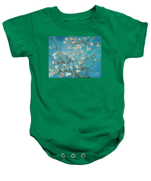 Almond Branches In Bloom Baby Onesie