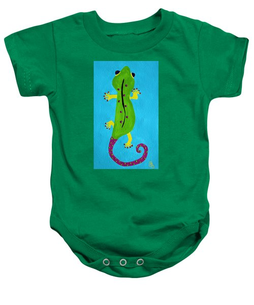 Gecko Gecko Baby Onesie