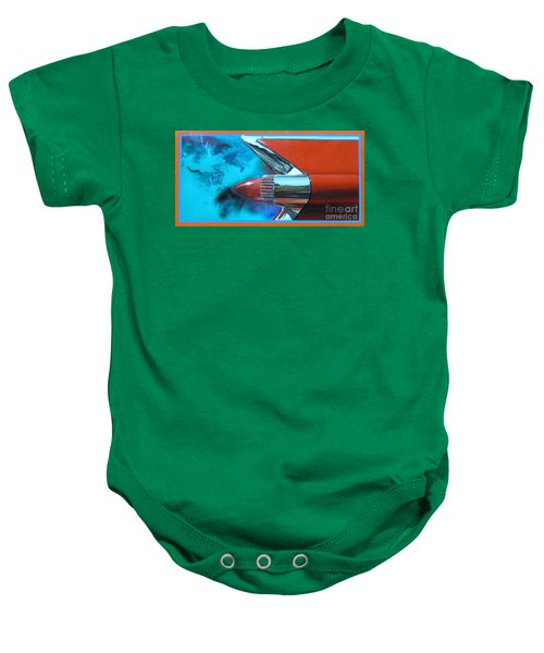 Green With Envy Baby Onesie