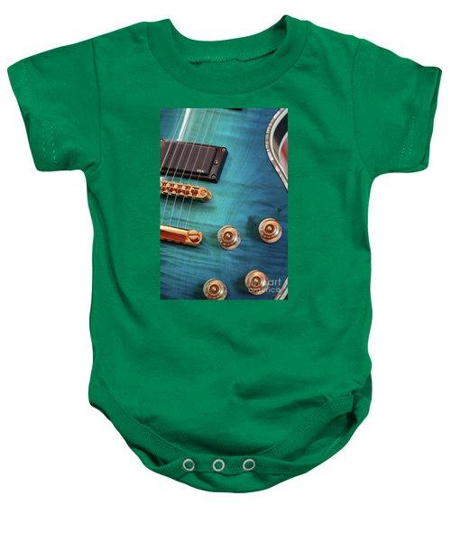 Guitar Blues Baby Onesie
