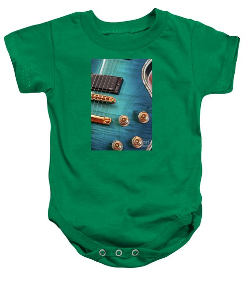 Guitar Blues Baby Onesie