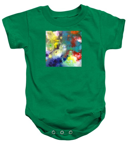 Holding The High Watch Canvas Two Baby Onesie
