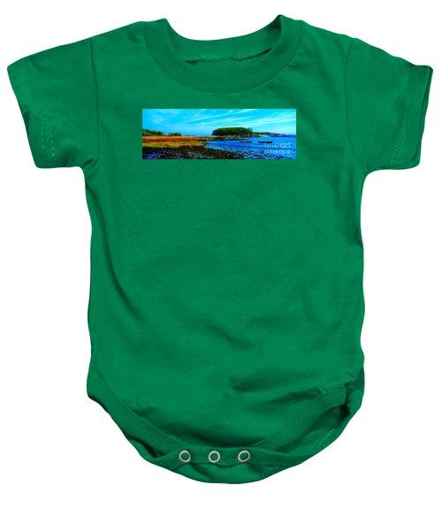 Kennebunkport  Vaughn Island  Baby Onesie