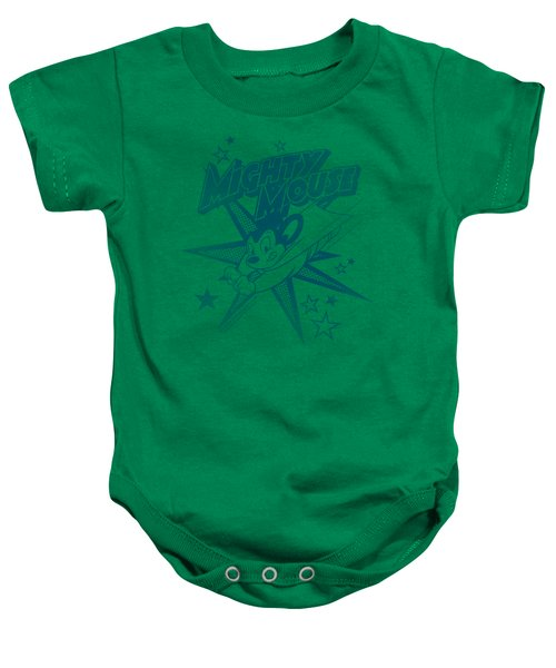 Mighty Mouse - Mighty Mouse Baby Onesie