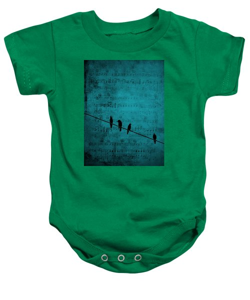 Music Soothes The Soul Baby Onesie