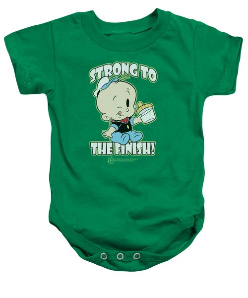 Popeye - Strong To The Finish Baby Onesie by Brand A