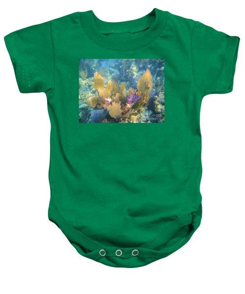 Rainbow Forest Baby Onesie