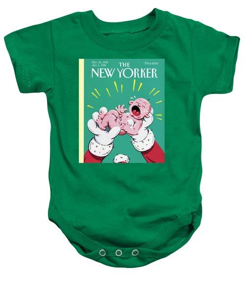 New Yorker December 26th, 1994 Baby Onesie